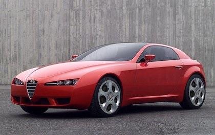 2002 Alfa Romeo Brera Concept (ItalDesign)