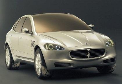 2003 Maserati Kubang GT Wagon (ItalDesign)