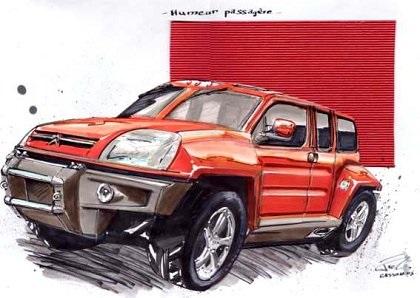 2003 Citroen Bourlingueur (Sbarro)