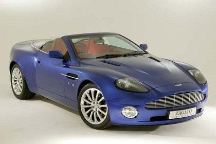Aston Martin Vanquish Roadster Zagato Studios - 2004 aston martin vanquish