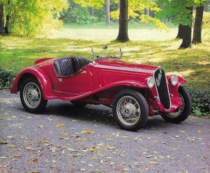 1933 Fiat 508S Balilla Spider (Ghia)