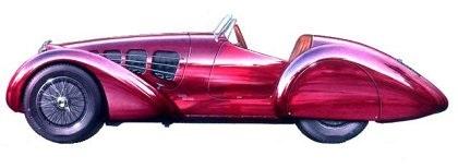 1937 Alfa Romeo 8C 2900 B (Zagato)
