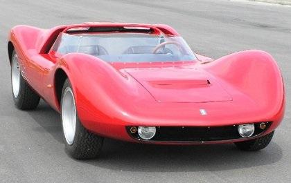 1965 DeTomaso Competizione 2000 (Ghia)