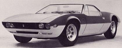 1966 DeTomaso Mangusta Spyder (Ghia)