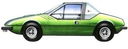 1972 Fiat 132 Aster (Zagato)