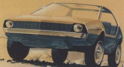 1973 Citroen Buggy GS (Heuliez)