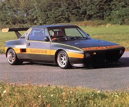 1975 Fiat X1/9 Dallara (Bertone)