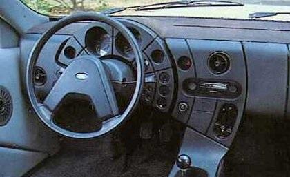 Ford Quicksilver Ghia  Interior