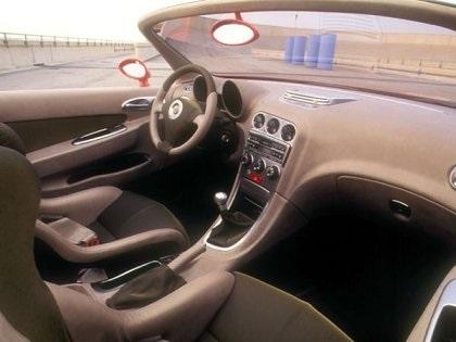 Alfa Romeo Dardo Interior