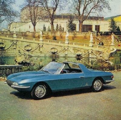 1963 Fiat 2300 Cabriolet Speciale (Pininfarina)