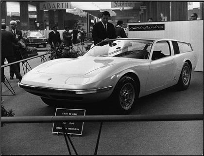 1967 Fiat Dino Parigi (Pininfarina)