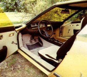 Citroen Camargue (Bertone), 1972 - Interior