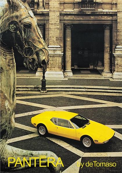 1970 DeTomaso Pantera (Ghia)