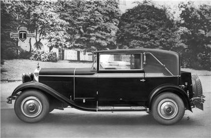 1928 Fiat 520 Cabiolet (Touring)