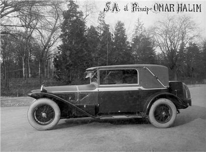 1927 Lancia Lambda Faux Cabriolet (Touring)