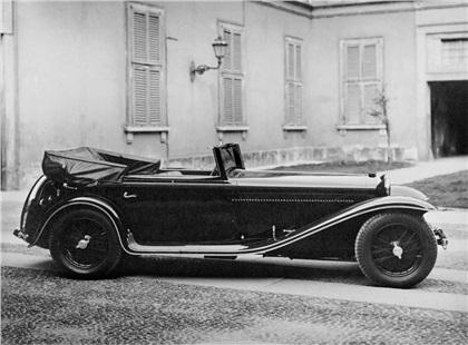 1932 Alfa Romeo 8C 2300 Cabriolet (Touring)