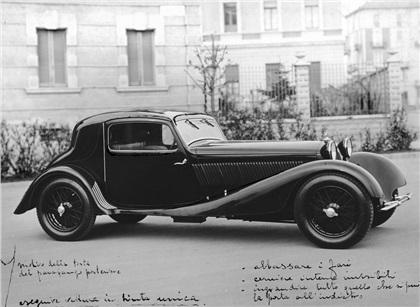 1932 Alfa Romeo 8C 2300 Coupe Aerodinamico (Touring)