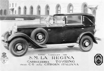 1932 Citroen Tipo 6C Coupe Cabriolet Regina d'Italia (Touring)