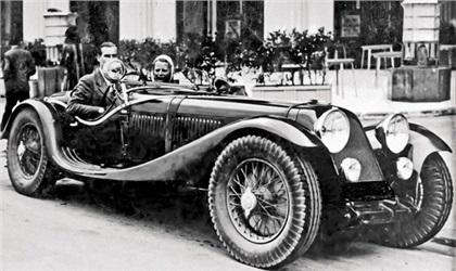 1932 Maserati V4 Sport (Zagato) - Studios