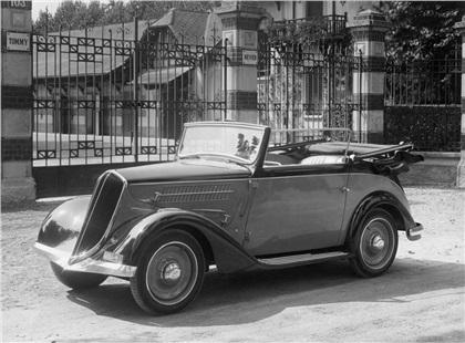 1933 Fiat 508 Cabriolet 'Smeraldo' (Touring)