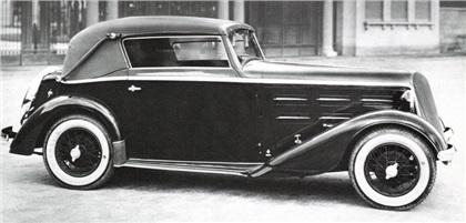 1933 Lancia Augusta Cabriolet (Touring)