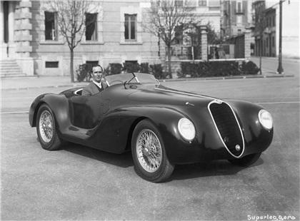 1939 Alfa Romeo 6C 2500 SS Spider-Corsa (Touring)