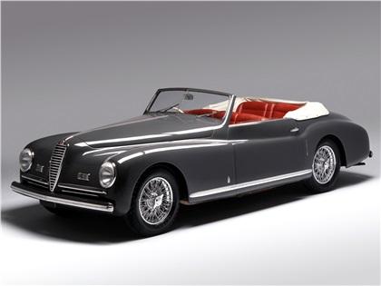 1947 Alfa Romeo 6C 2500 SS Cabriolet (Pininfarina)