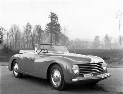 1947 Alfa Romeo 6C 2500 S Cabriolet (Stabilimenti Farina)