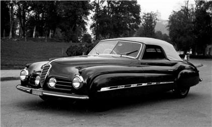 1948 Alfa Romeo 6C 2500 Sport Cabriolet (Ghia)