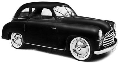 1950 Moretti 600/750