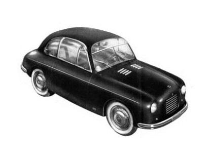 1950 Fiat 500 C Panoramica (Zagato)