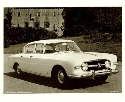 1955 Nash Special (Pininfarina)