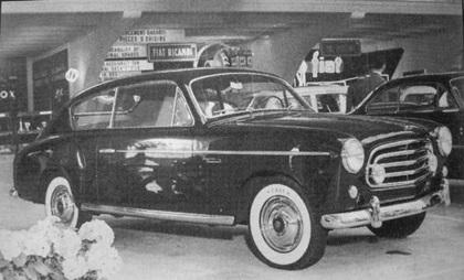 1953 Fiat 1900 Berlina (Accossato)