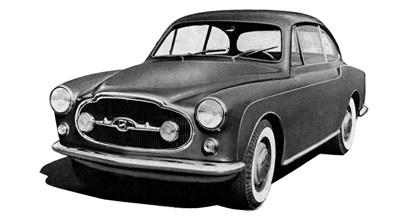 1953 Moretti 1200 Berlina