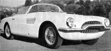 1953 Fiat 8V Spider (Vignale)
