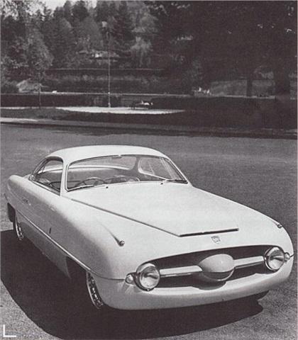 1953 Abarth Fiat 1100 (Ghia)