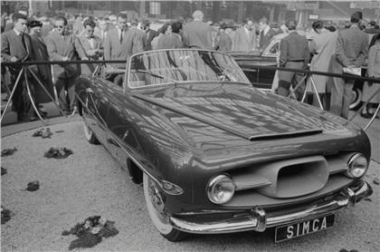 1954 Simca Convertible Special (Ghia)