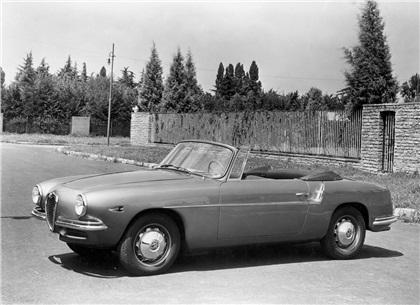 1955 Alfa Romeo 1900 SS Cabriolet (Touring)