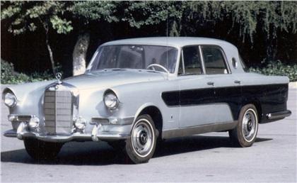 1956 Mercedes-Benz 300 Berlina/Convertible (Ghia)