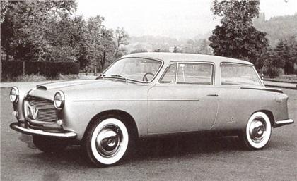 1956 Fiat 1100 TV Speciale (Pininfarina)