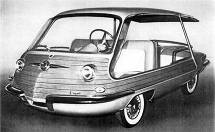 1956 Fiat Multipla Spiaggetta (Vignale)