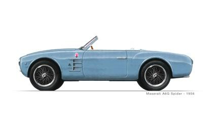 1955 Maserati A6G Spider (Zagato)