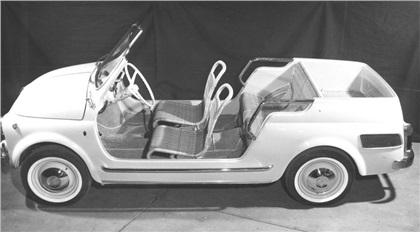 Fiat 500 Jolly Kombi (Ghia), 1957-66