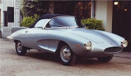 1957 Fiat Stanguellini 1200 Spider (Bertone)