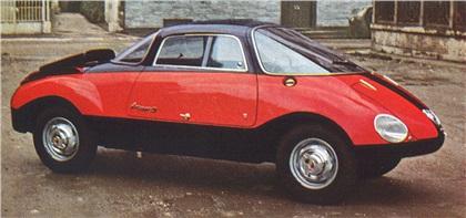 1957 Abarth 750 Coupe Goccia (Vignale)