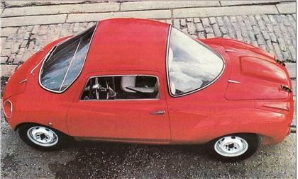 Abarth 750 Coupe Goccia (Vignale), 1957