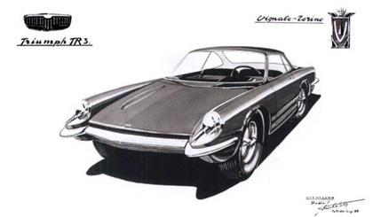 1958 Triumph Italia 2000 Coupe (Vignale)