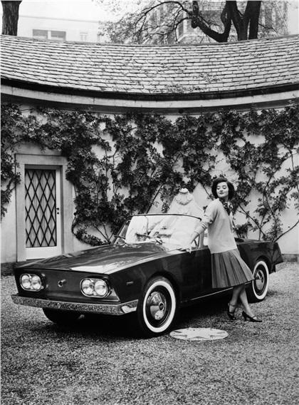 1960 Fiat 1500 Spider 'Bonetto' (Boneschi)