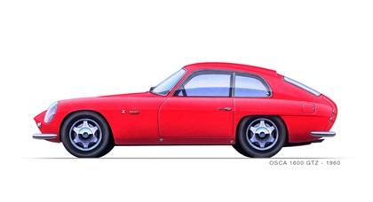 1960 OSCA 1600 GTZ (Zagato)