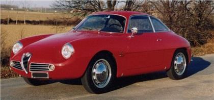 1960 alfa romeo giulietta sz (zagato) - Студии